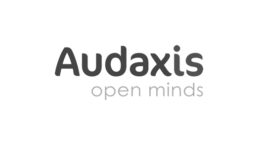 Audaxis logo BW.png