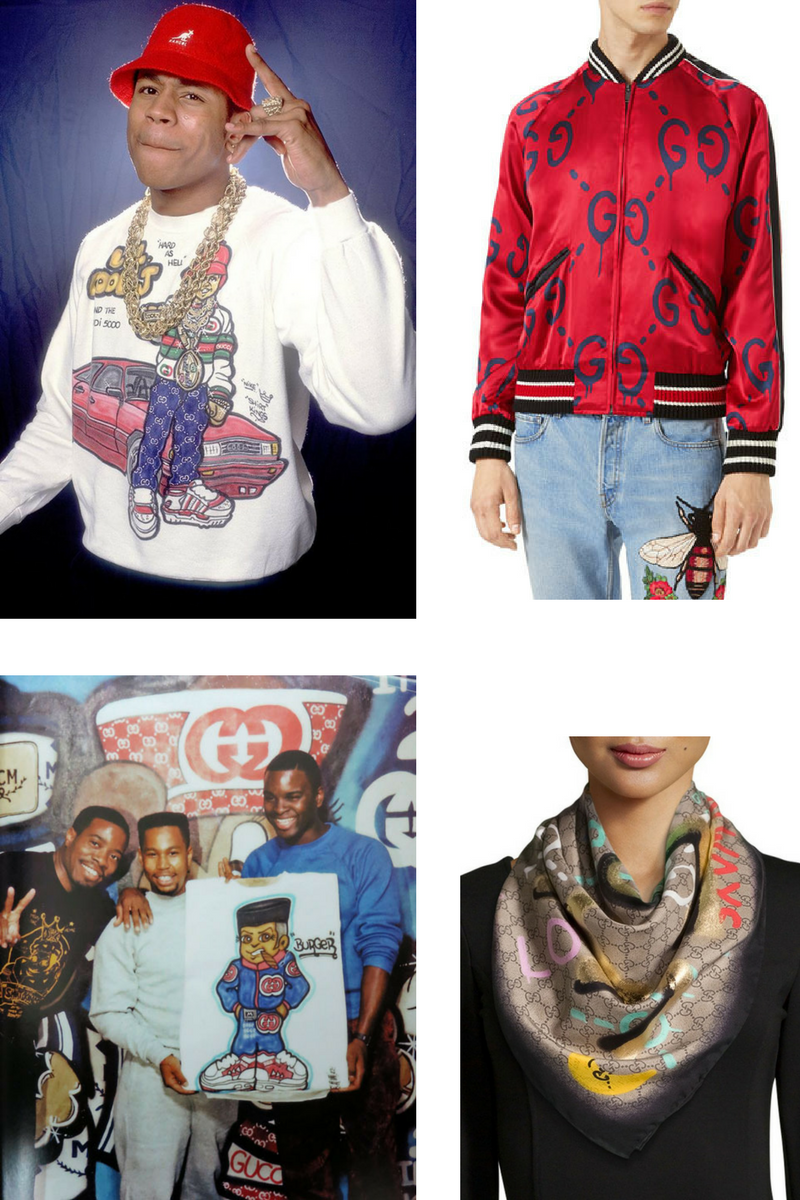 Shirt Kings then, Gucci ghost now. . .