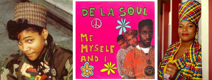 Monie Love, De la Soul and Queen Latifah