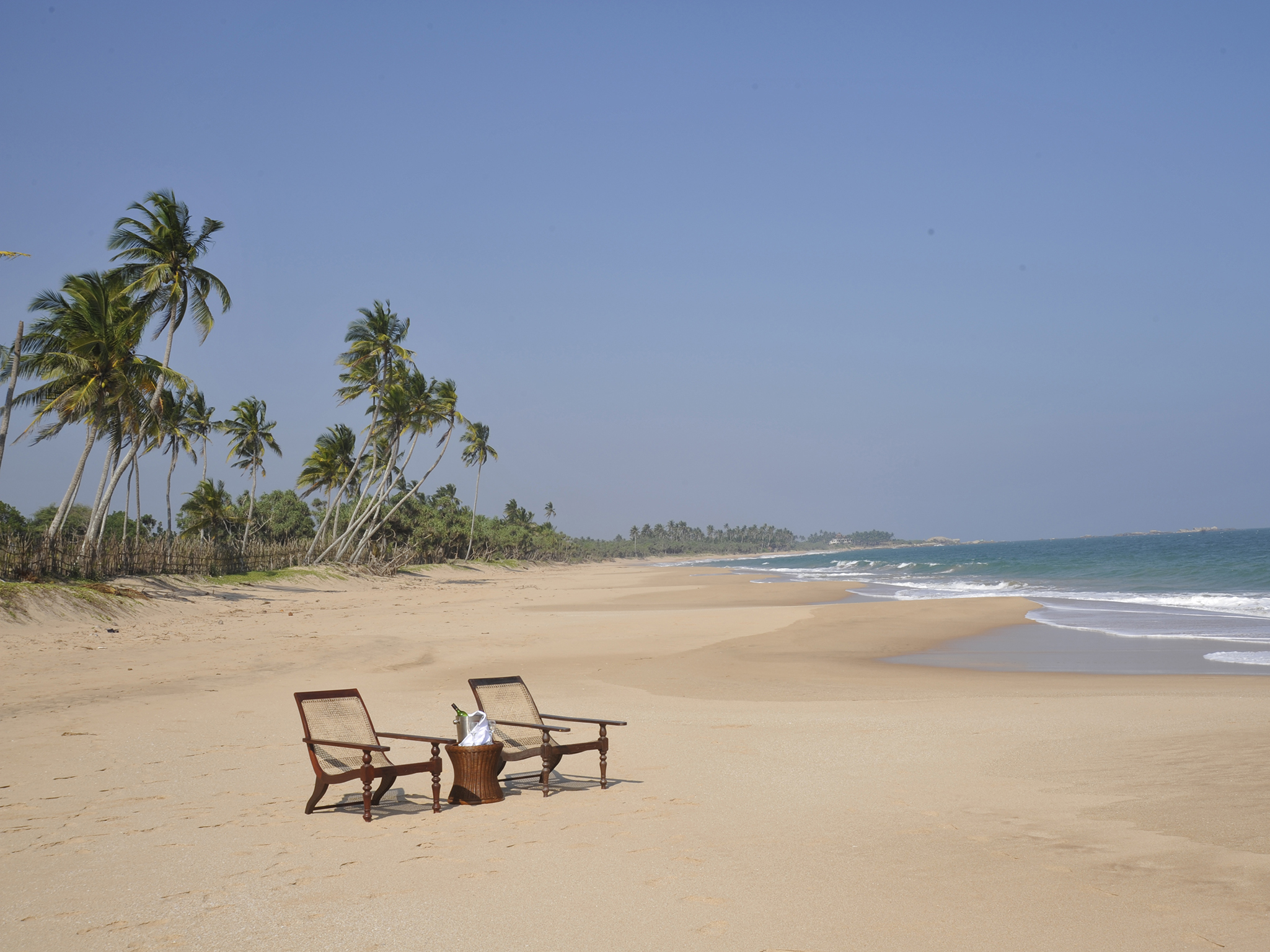15-Oceans Edge-Tangalle - Chairs on the beach in front of the villa.jpg