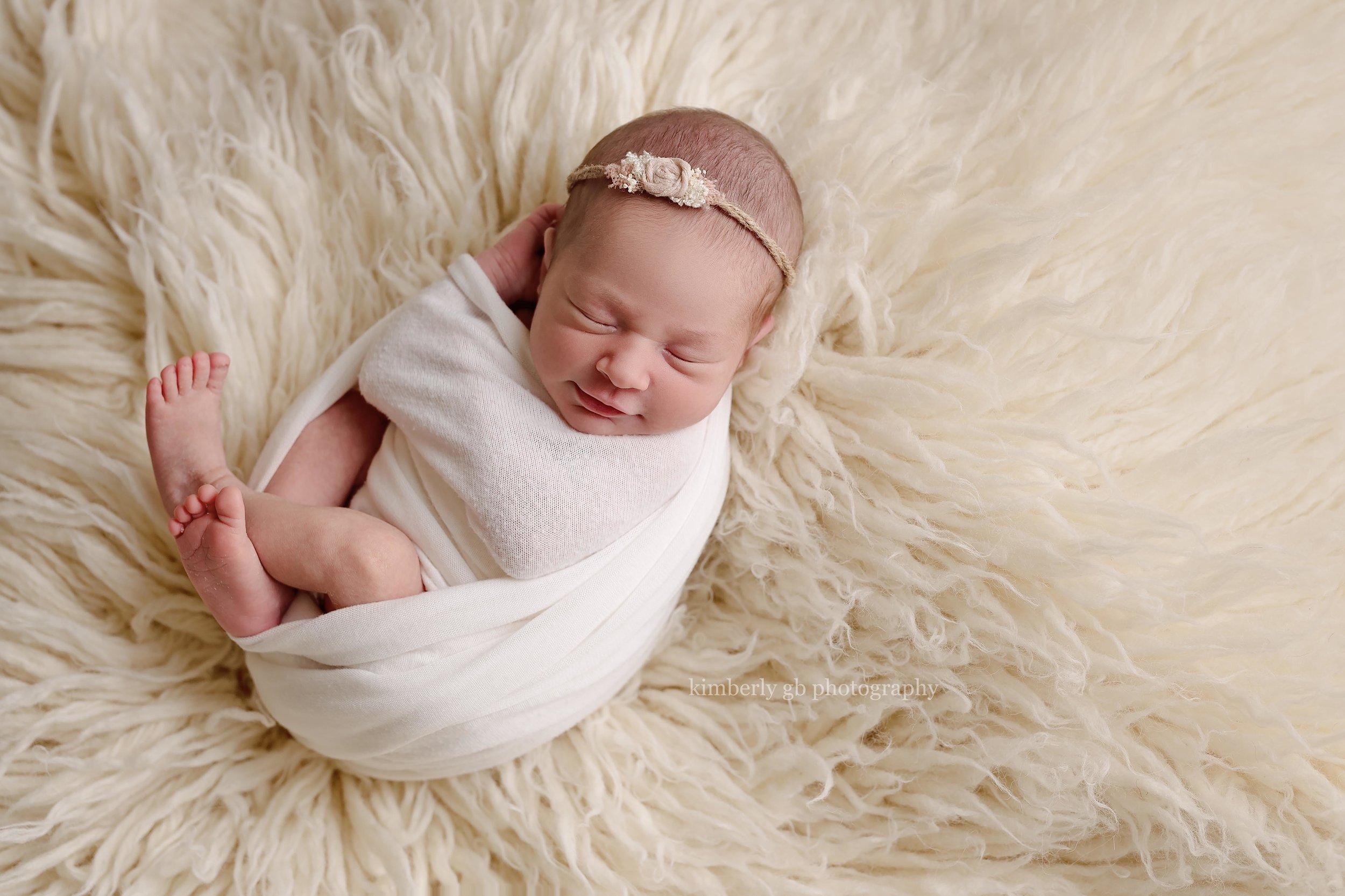 Esta imagen con su sonrisa en la alfombra flokati fue la favorita de papá y mamá.