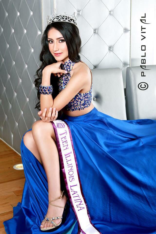 Miss Teen Illinois Latina 2015