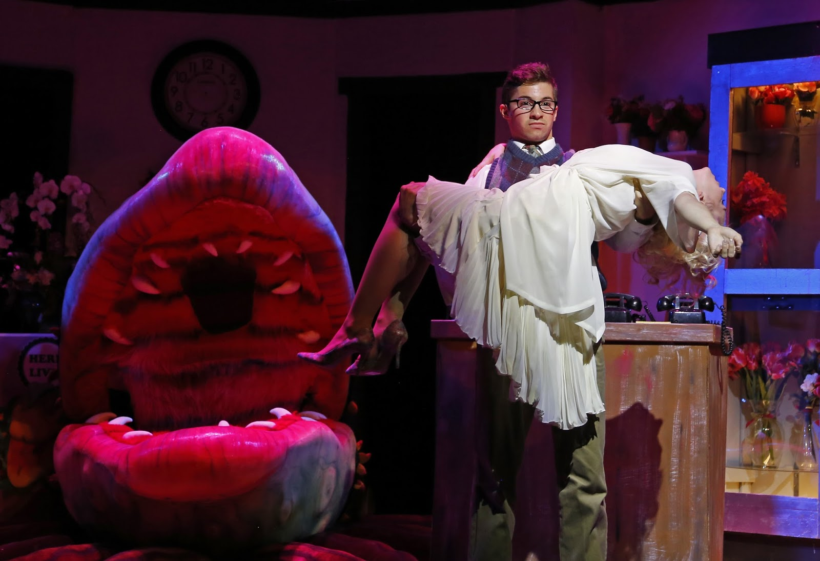 Audrey in  Little Shop of Horrors