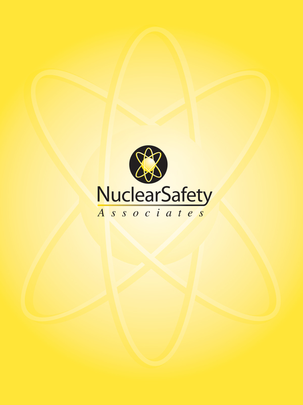 Pocket Folder cover. Nuclear Safety Associates