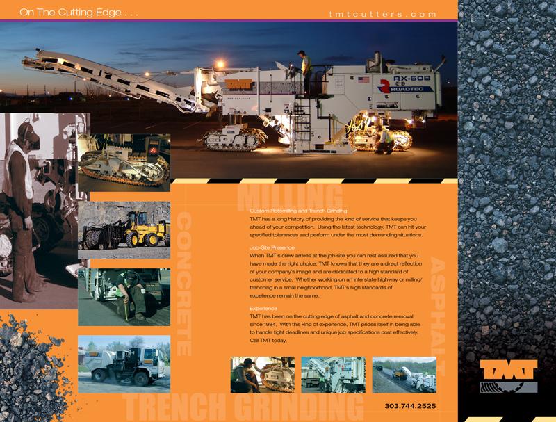 TMT Cutters brochure inside flat