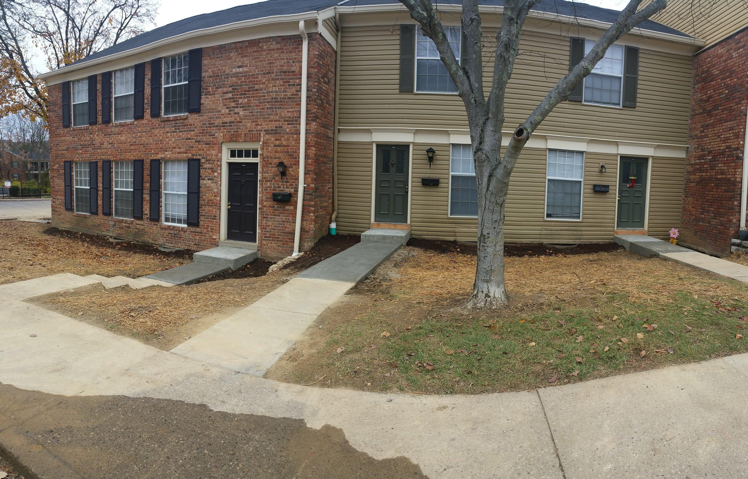Area fully restored.