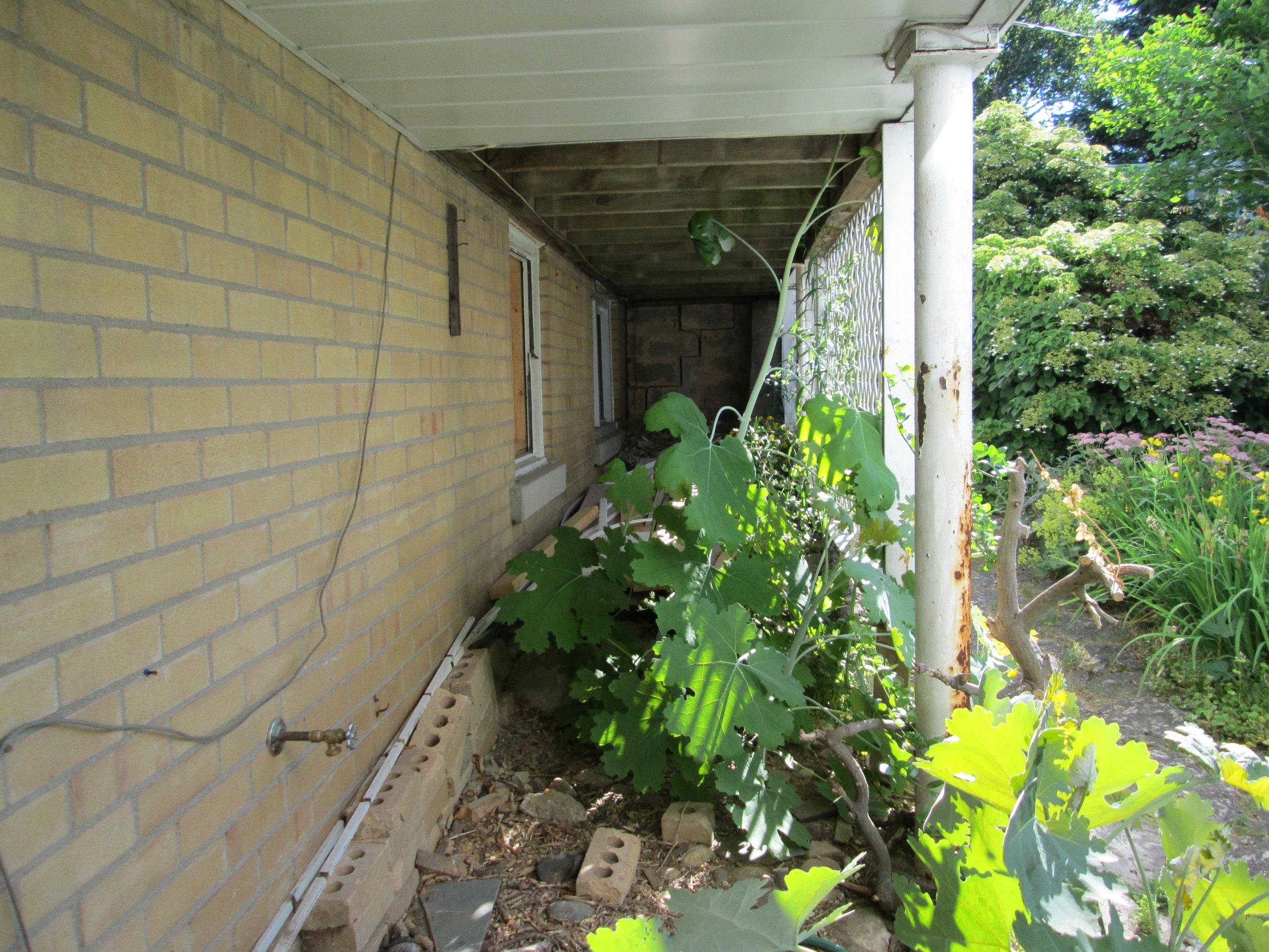 Below-deck area, original.