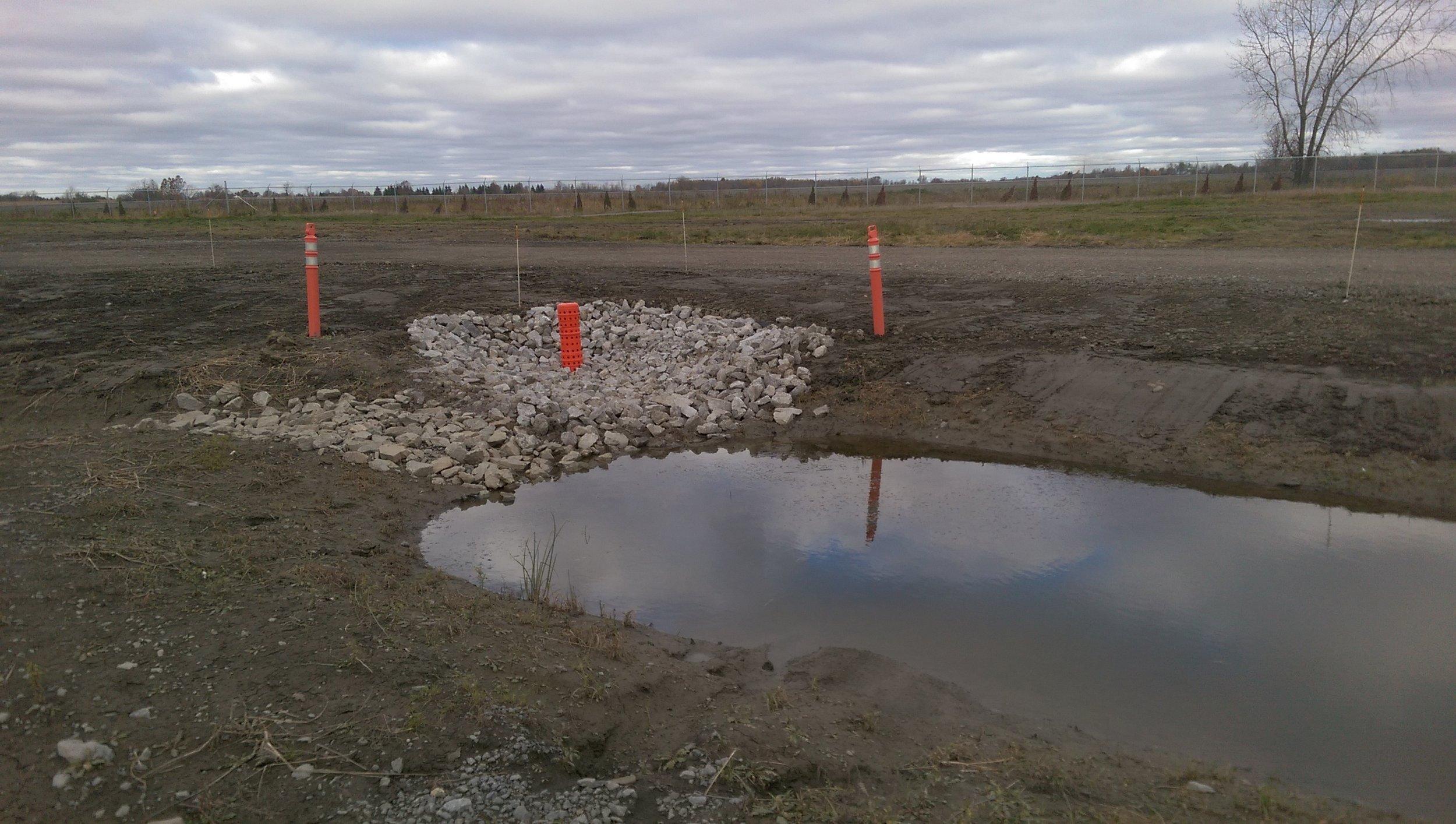 Hickenbottom drain.