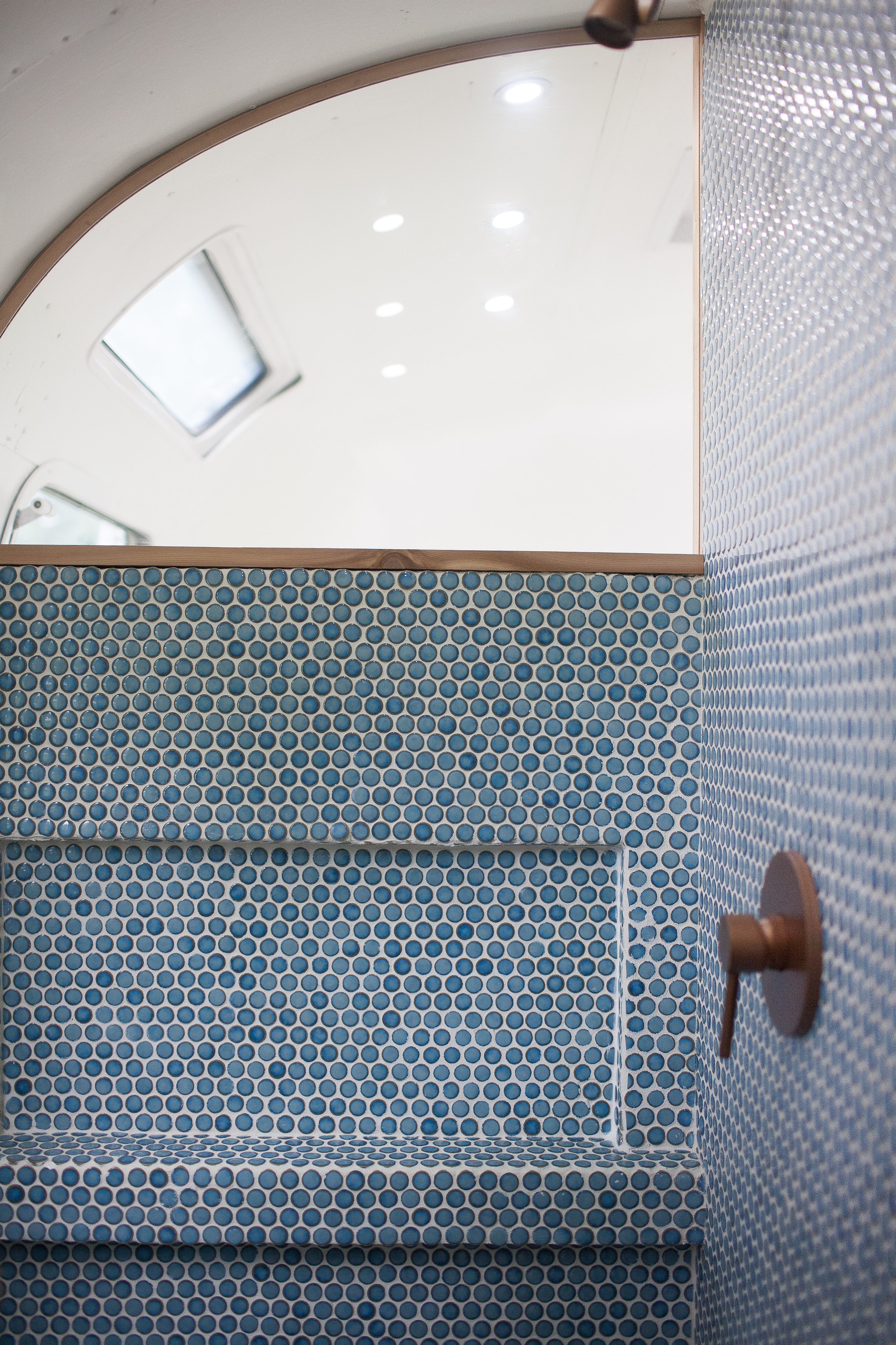 The tile was sourced from  All Modern .