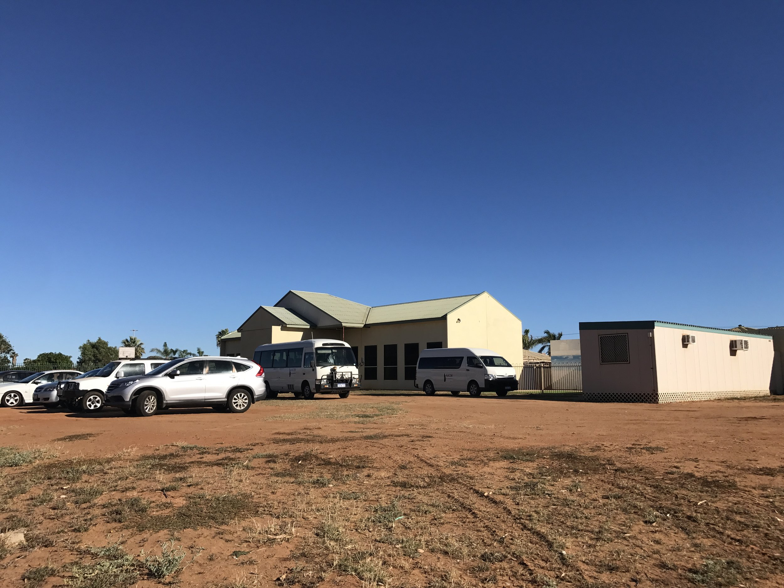 The building where Carnarvon Aboriginal Outreach meet.