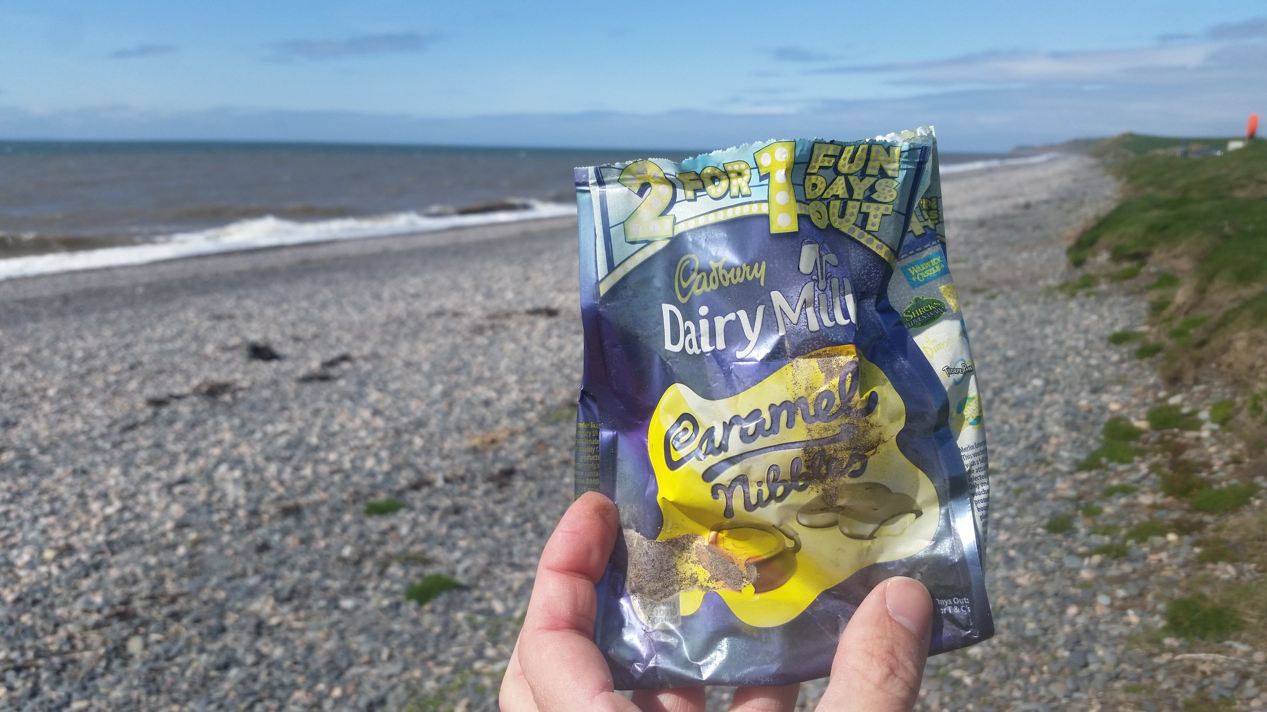 Cadbury 'Fun Day' include littering beaches?
