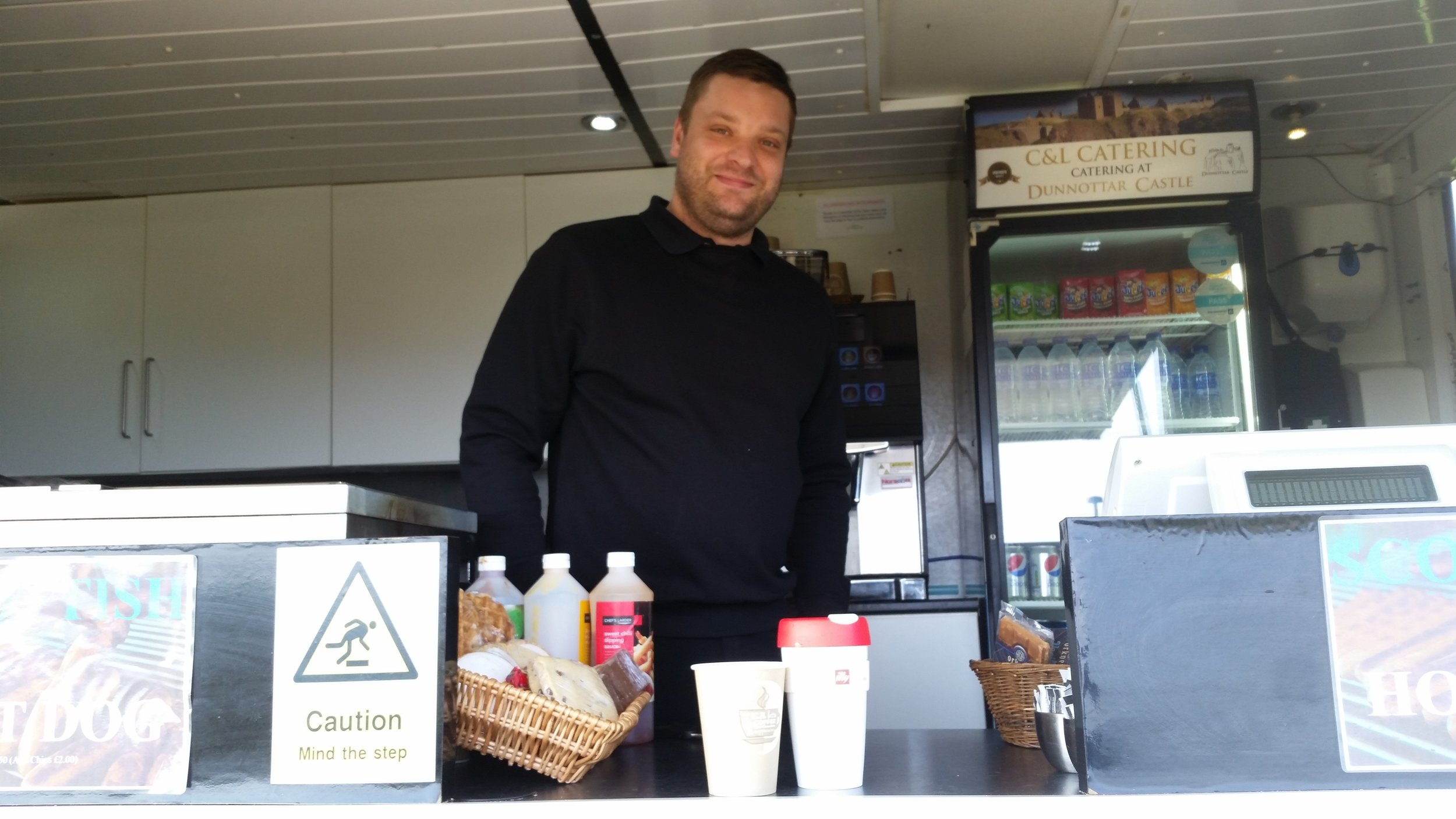 Fantastic grub C & L Catering and super friendly Liam and Colin tell us about their recycling and compostable coffee cups!