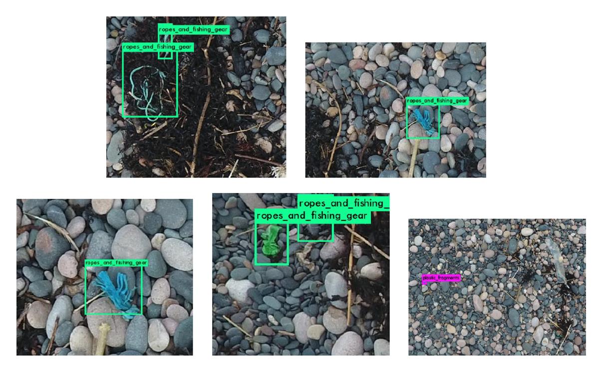 Version 1 of the algorithm detecting plastics and plastic types!