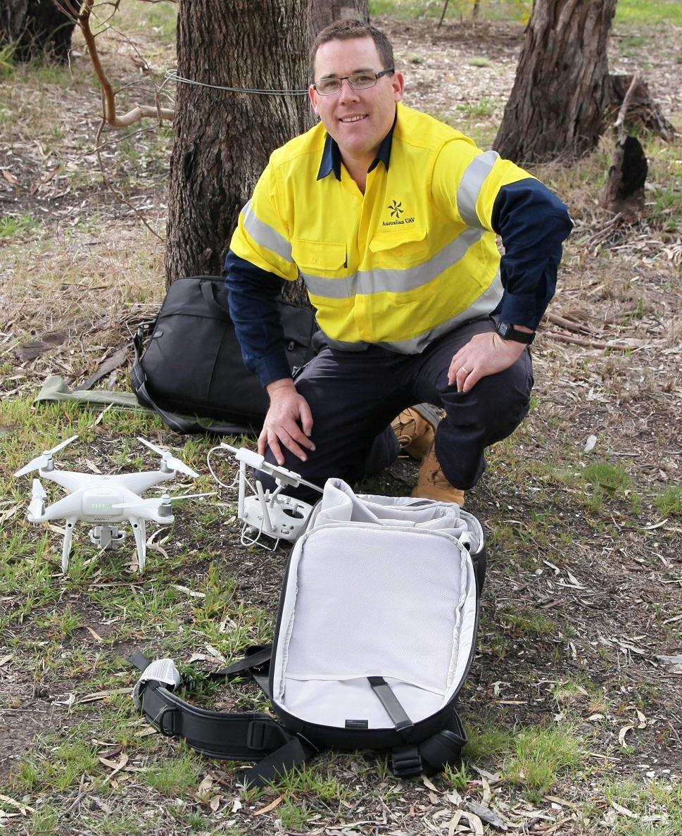 Martin Leahy,Australian UAV
