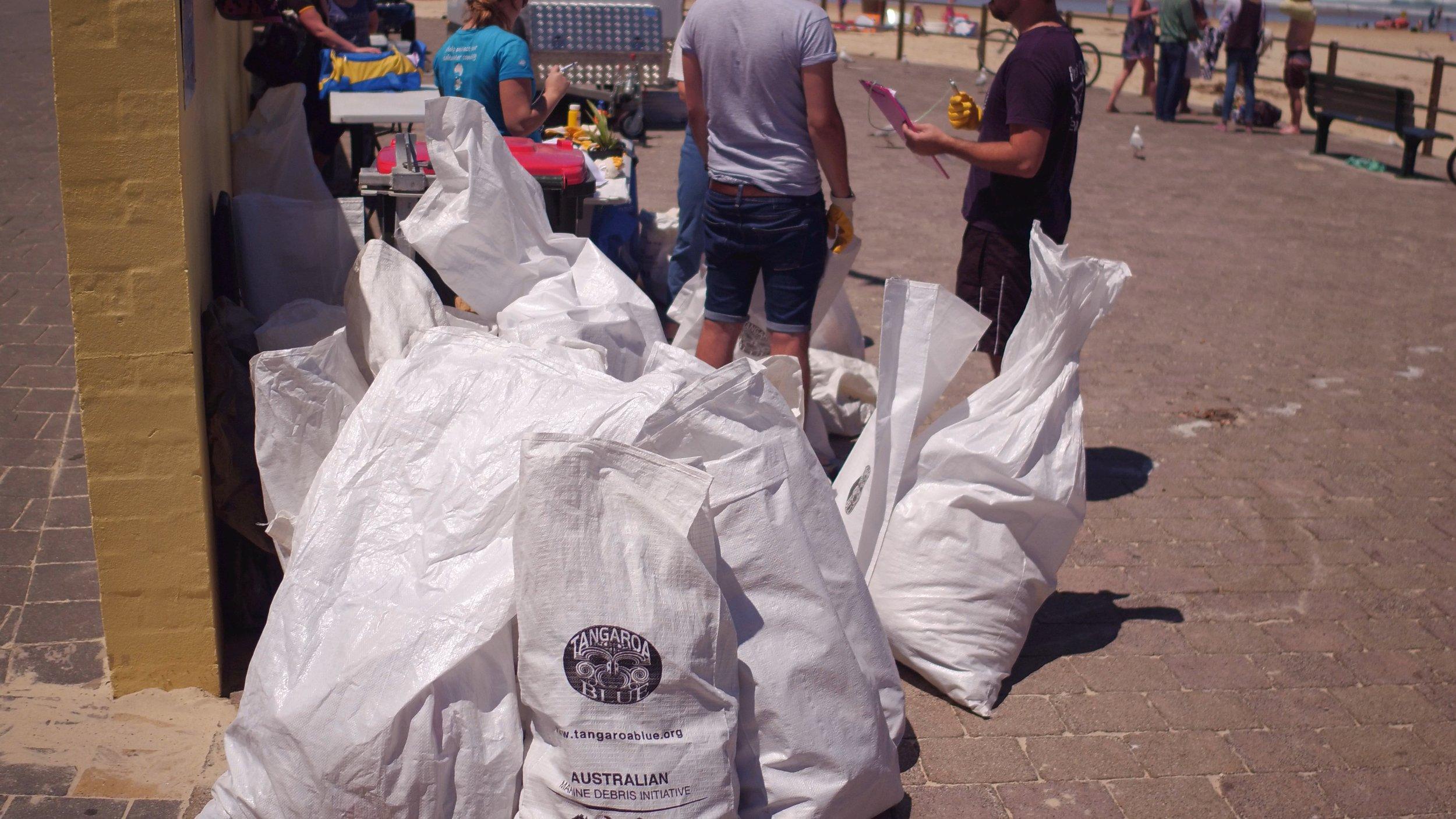 The haul, all 85kgs of it!