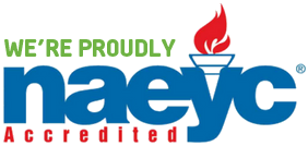 We are an NAEYC accredited school.