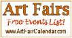 ArtFairCalendar.com:   Fine Art Fairs and Craft Show Event Listings Free calendar and email list for art festivals across the U.S.