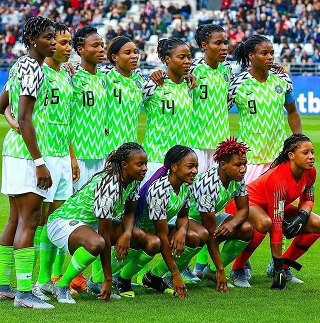 Stanning for the Super Falcons right now! #wwc2019 #fifawwc