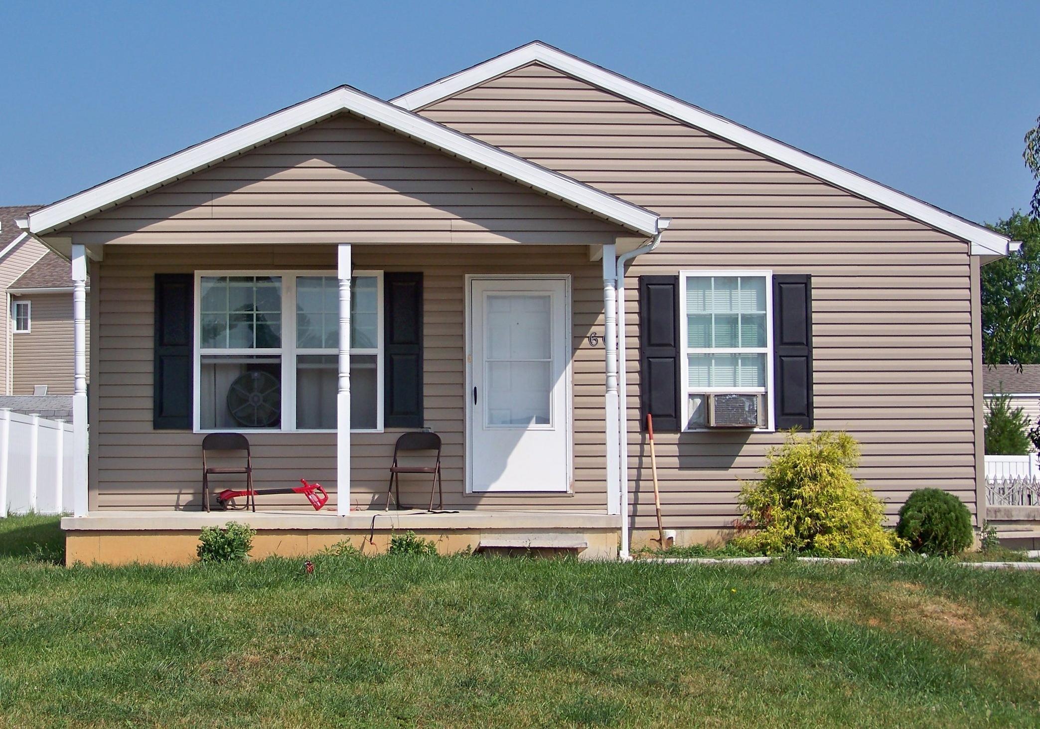 A decent, affordable Habitat home.