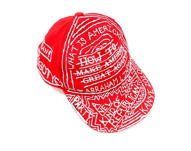 . Red Hat (The Neo Conservative!) SOLD! . #blue #hat #fashion #designer #handmade #red #culture #wshh #vogue #kanye #offwhite #blm #establishment #blackpanther #photography #cnn #pharell #supreme #frankocean #blonde #nike #supreme #hypebeast #explorepage #antidisestablishmentarian #antiestablishmentarian