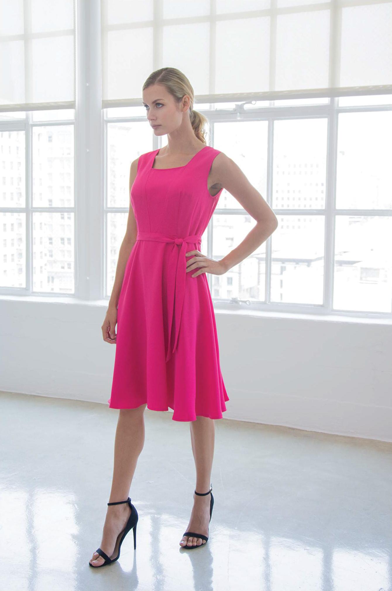 Dress: Iris - SANTORELLI