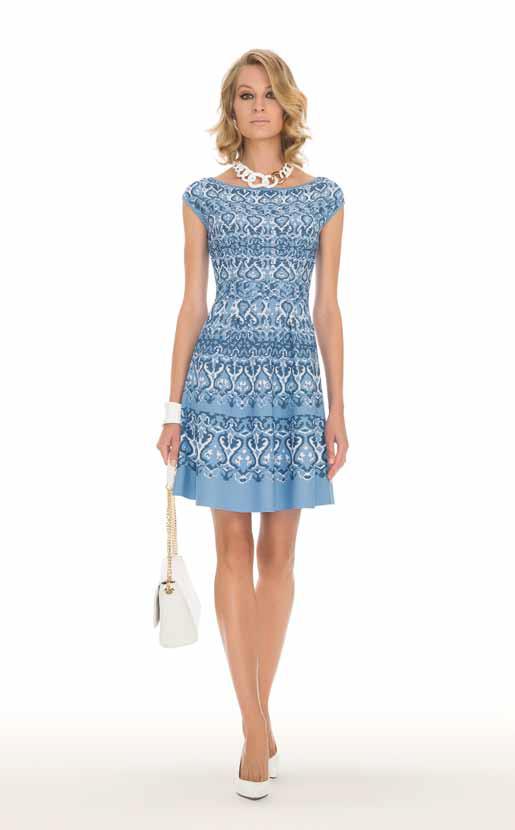 Dress: Cardinale - SPAGNOLI