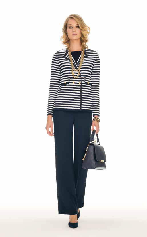 Jacket: Merenghe, Pullover: Mers, Pants: Anis - SPAGNOLI