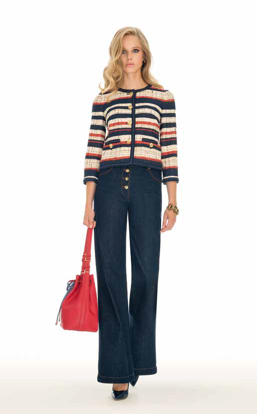 Jacket: Vele, Jeans: Assisi - SPAGNOLI