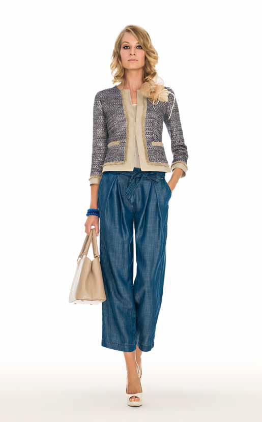 Jacket: Visura, Top: Capriolo, Pants: Albert - SPAGNOLI