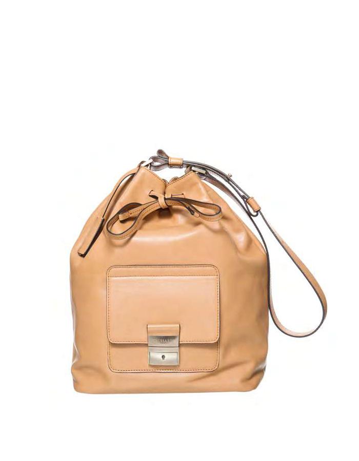 VITELLO Bag Cashmire, Color: Powder - TRUSSARDI Prima Linea Donna