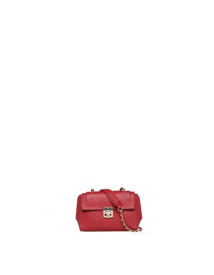 LEVANTO ECOSAFFIANO Crossbody, Color: Bordeaux - TRUSSARDI JEANS
