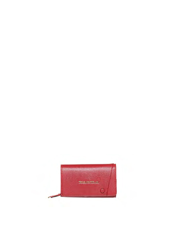MONTBLANC Wallet Ecoleather, Color: Bordeaux - TRUSSARDI JEANS