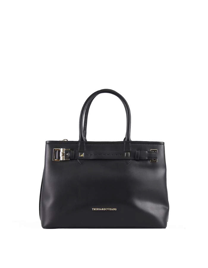 TREMBLANT Tote Ecoleather, Color: Black - TRUSSARDI JEANS