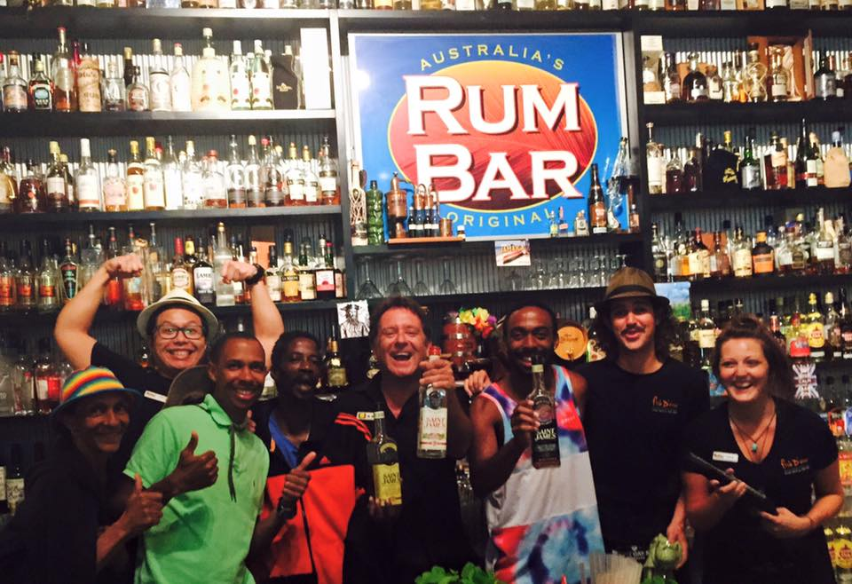 Ti punch o'clock with our new friends from Martinique! #rhum #martinique