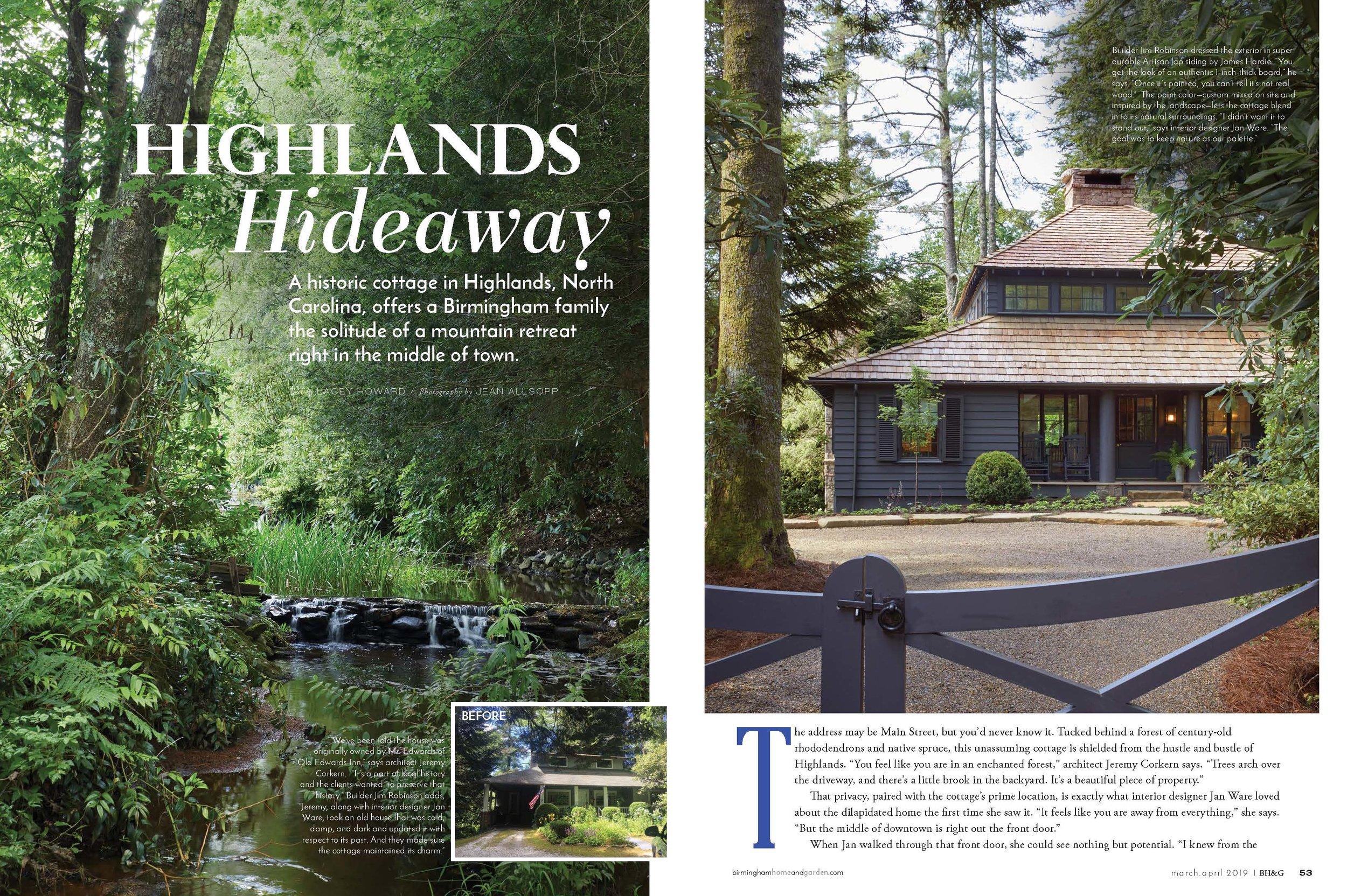 Highlands Bungalow, Jeremy Corkern Design