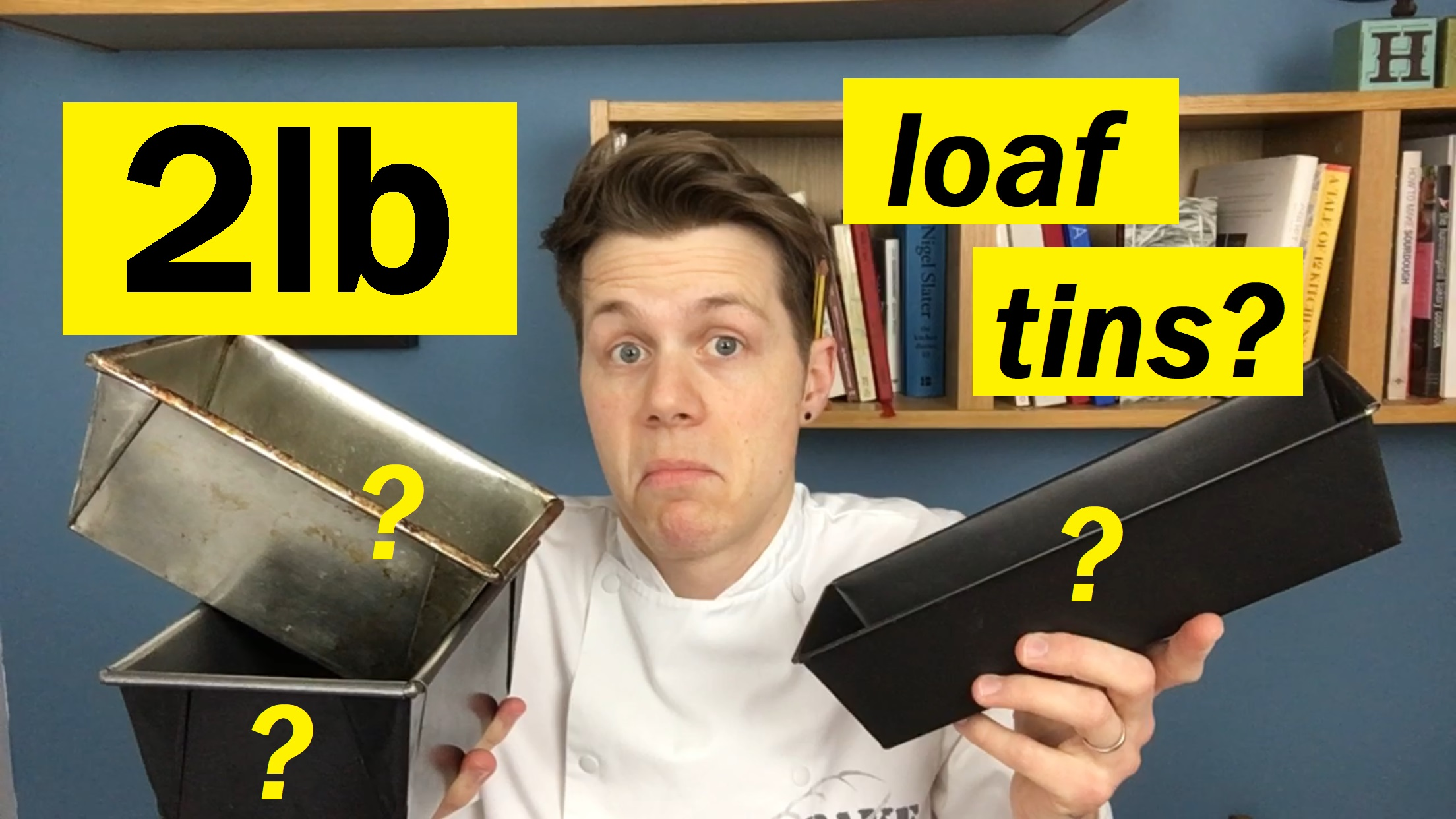 Watch next - Bread Tip 57: What is a 2lb loaf tin?