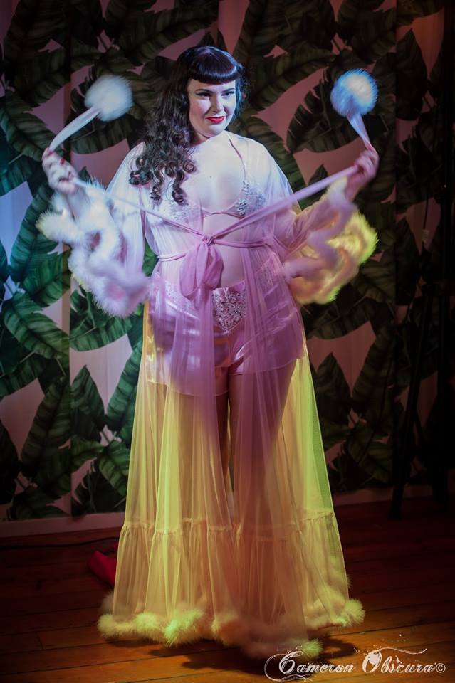 Photo by Cameron Obscura | Taken at Naked Ostrich Burlesque