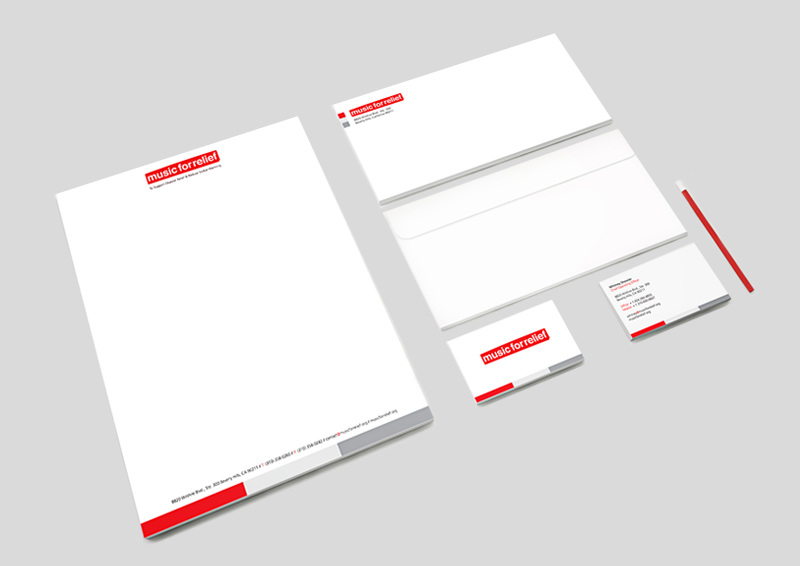 Letterhead, Business Card, Envelope