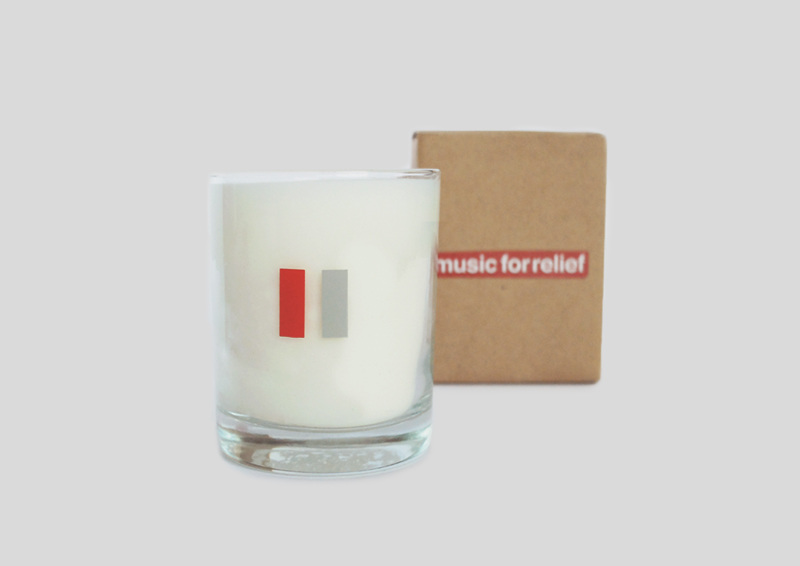 Music for Relief Scented Candle