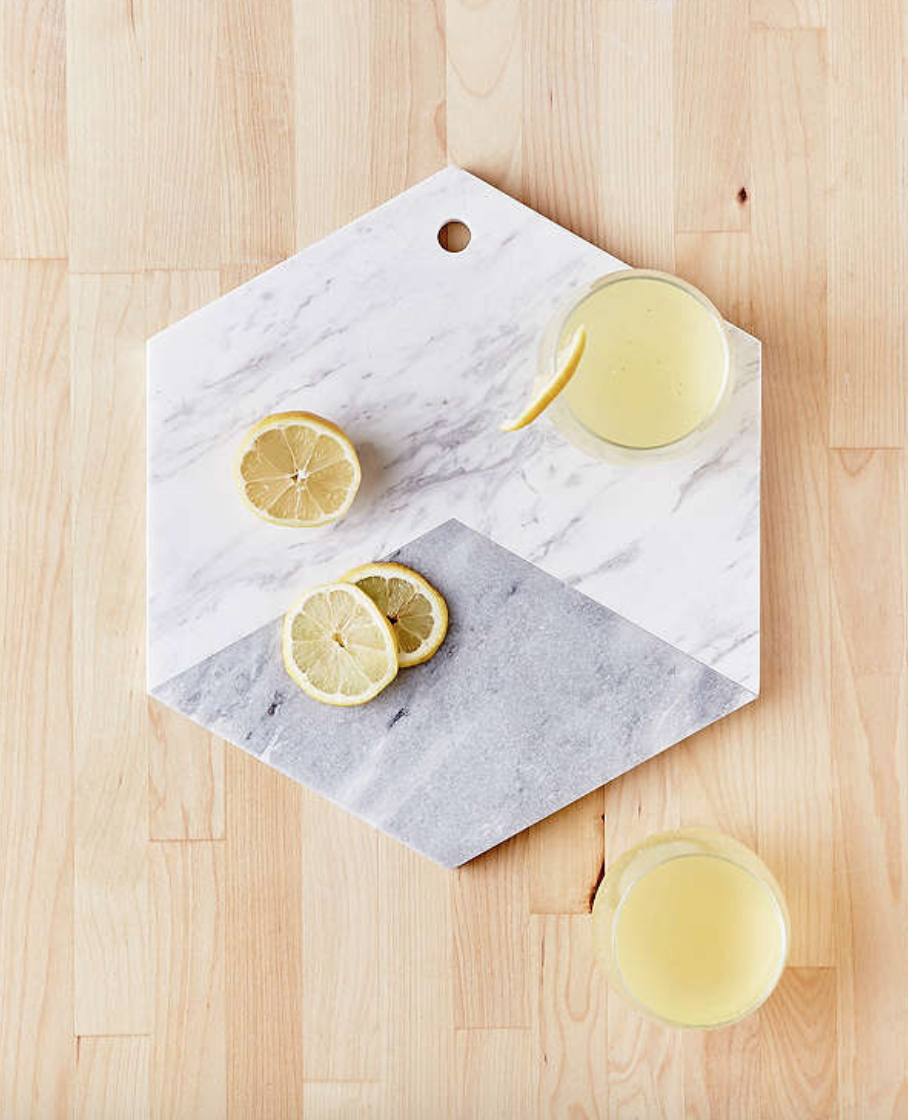 Urban Outfitters : Marble Hexagon Cutting Board , $49.00