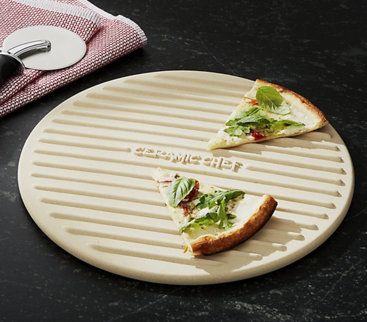 Crate and Barrel : Pizza Grilling Stone , $44.95