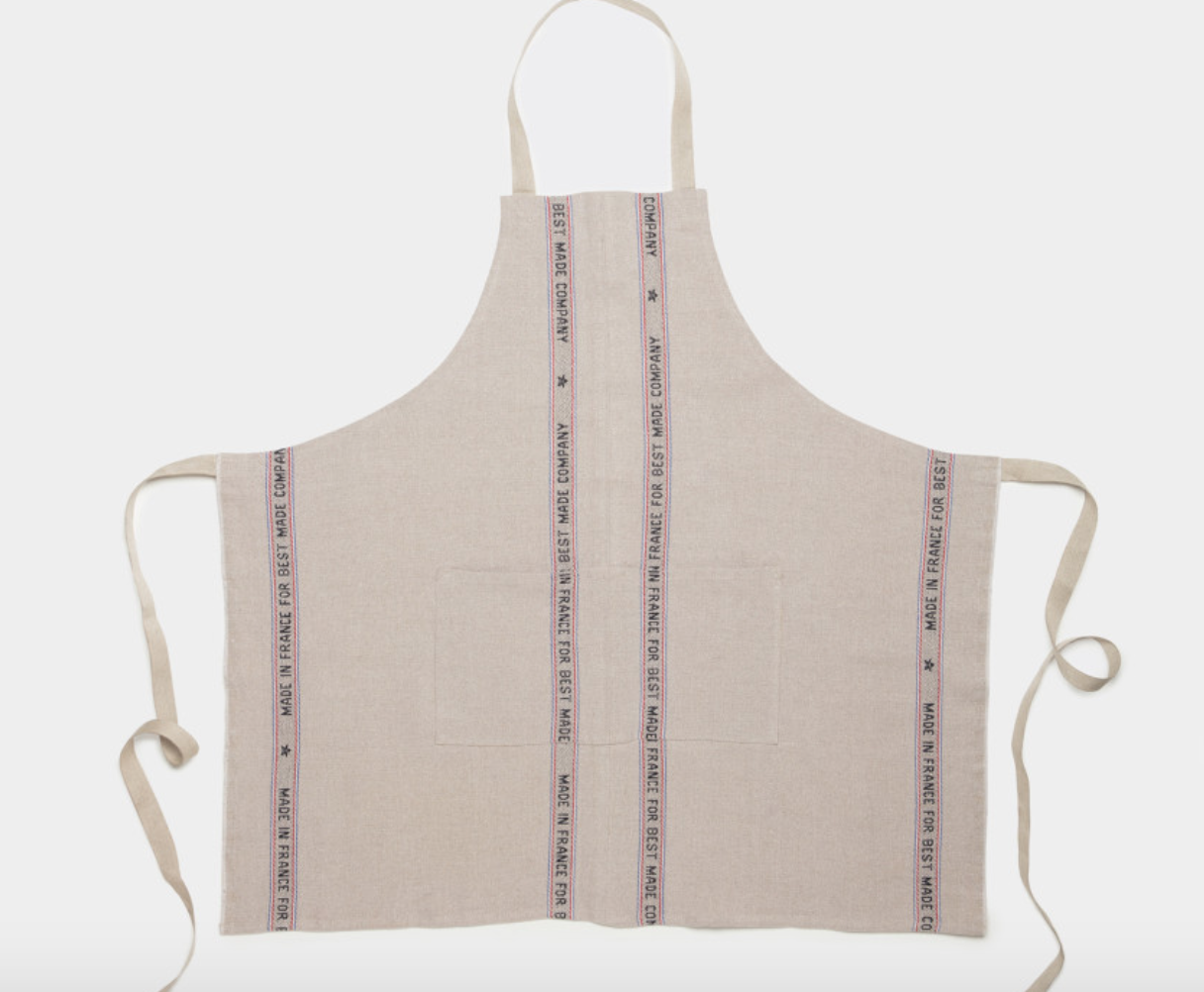 Best Made Co. :The Charvet Heavy Linen Apron for Best Made , $98.00