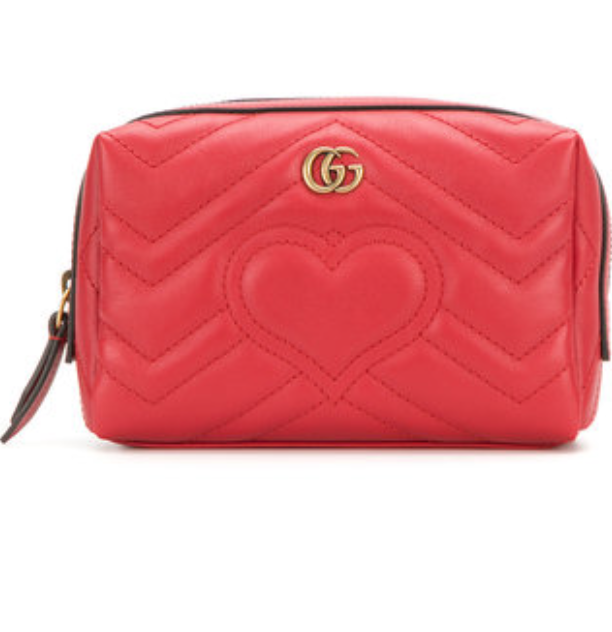 Gucci : GG Marmont Cosmetic Case , $520.00