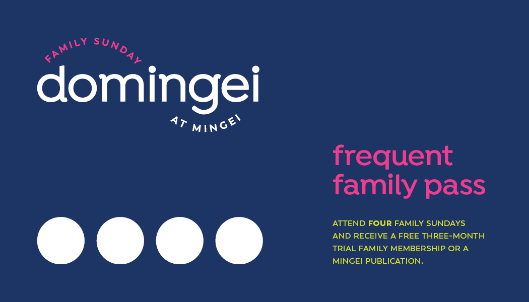 front of frequent family pass, domingei