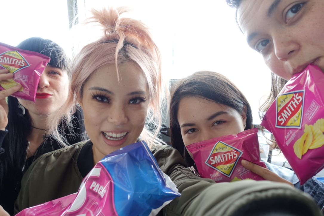 August 2016 - The Tuesday after the Swiss Dank Saturday/One Day Sunday weekend, I had my first appearance on the  Pink Noise show  on Bondi Beach Radio. This would be the first of three guest spots on their show this year I love these girls 😍 Free chips are the way to my heart fo sure.