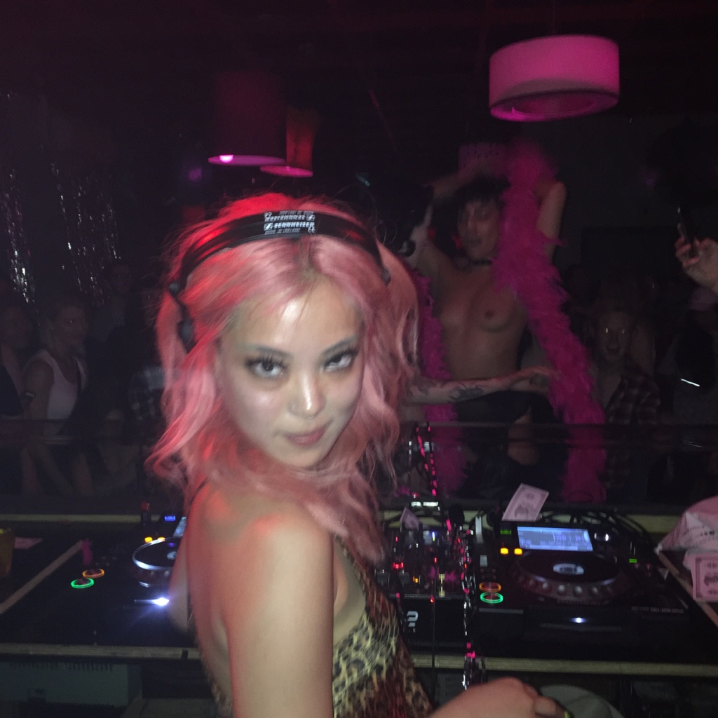 September 2016 - I hosted my first ever party, with the help of Birdcage, STRIPCAGE ! The night itself was so much fun but it was so stressful organising a party I'm not sure I could ever do it on my own. But one day fo real I would like to DJ at a strip club.