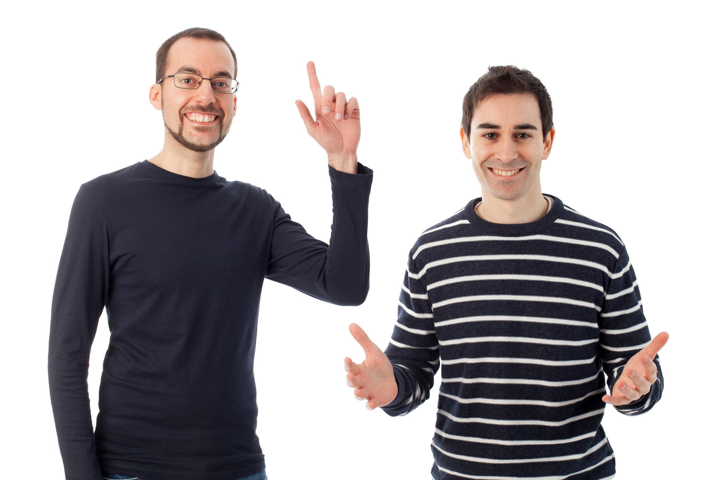 David Carulla y Miquel Nadal - Responsables de RCTV