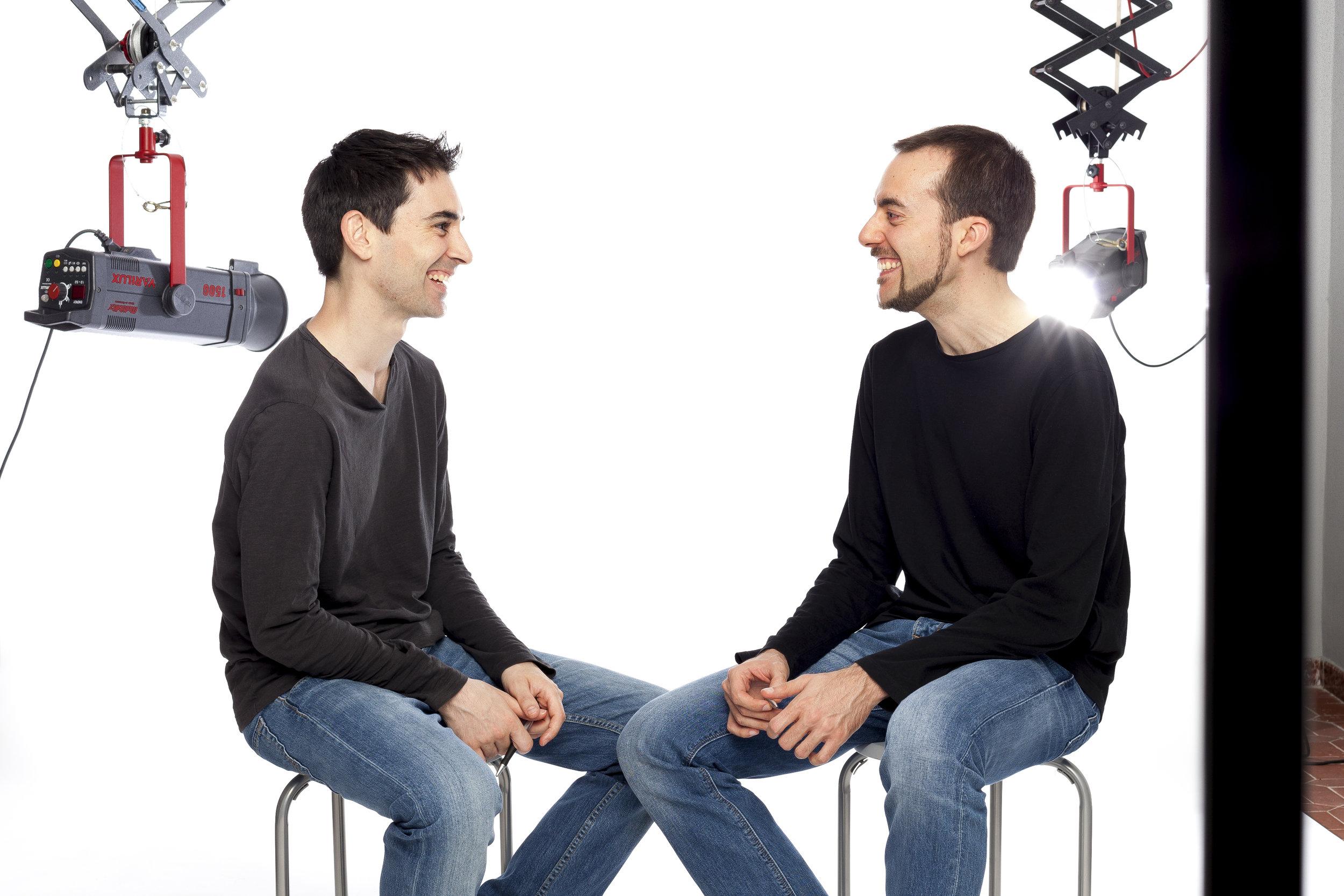 """Miquel Nadal y David Carulla - Responsables de """"Reconcíliate con tu Vida"""""""