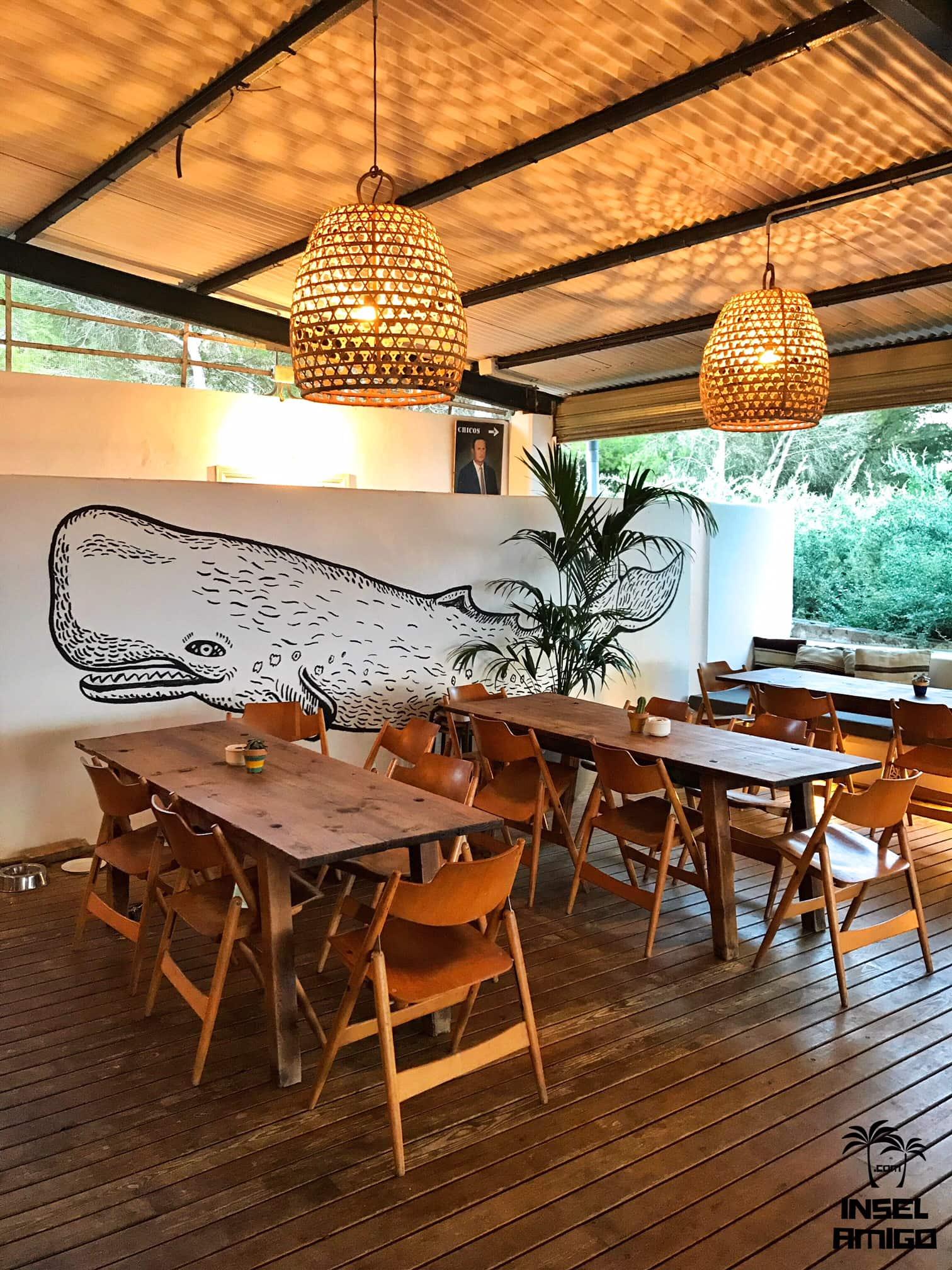 Coole Zeichnung im Bar Esperanza