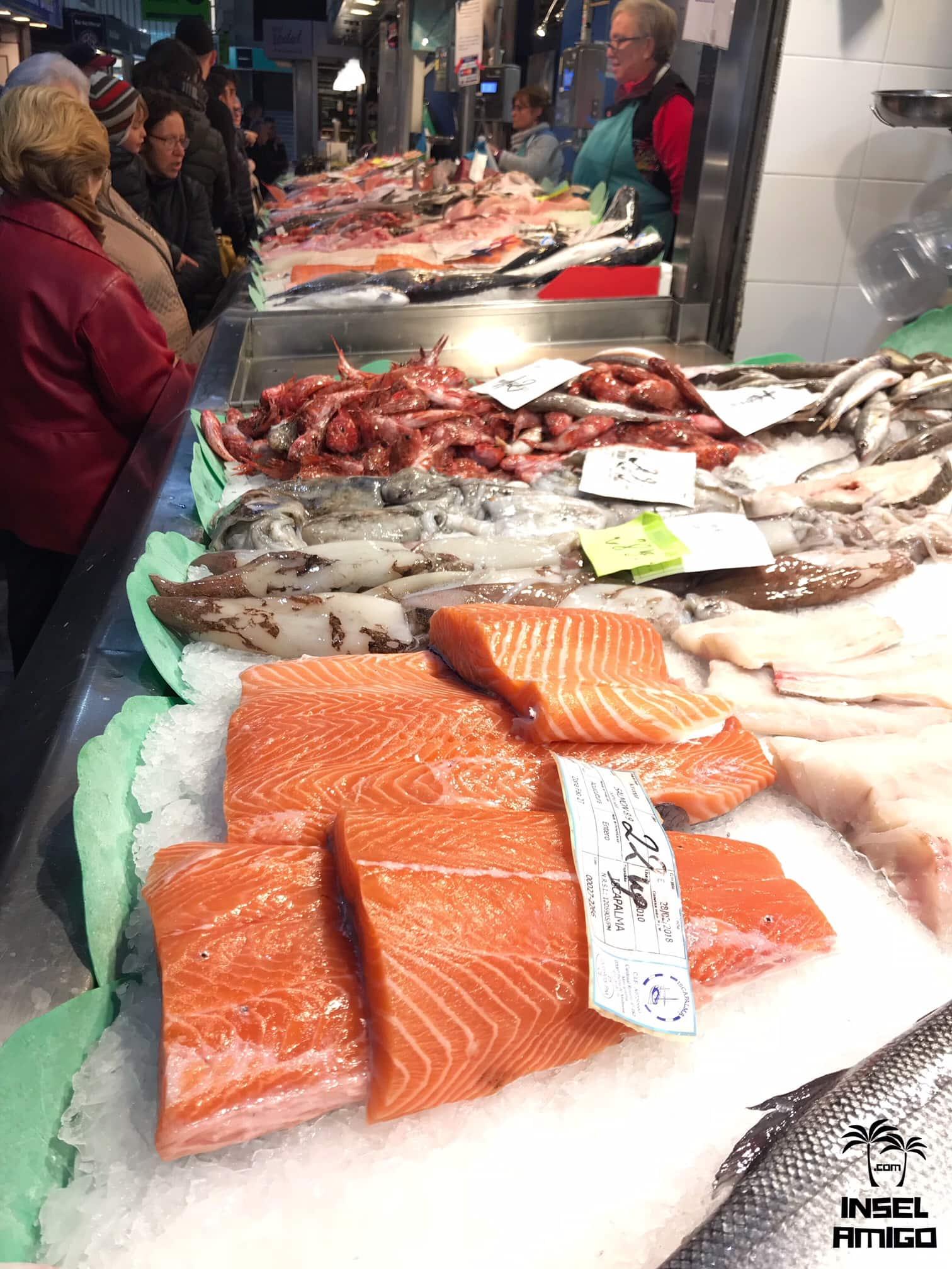 Frischer Fisch im Mercat